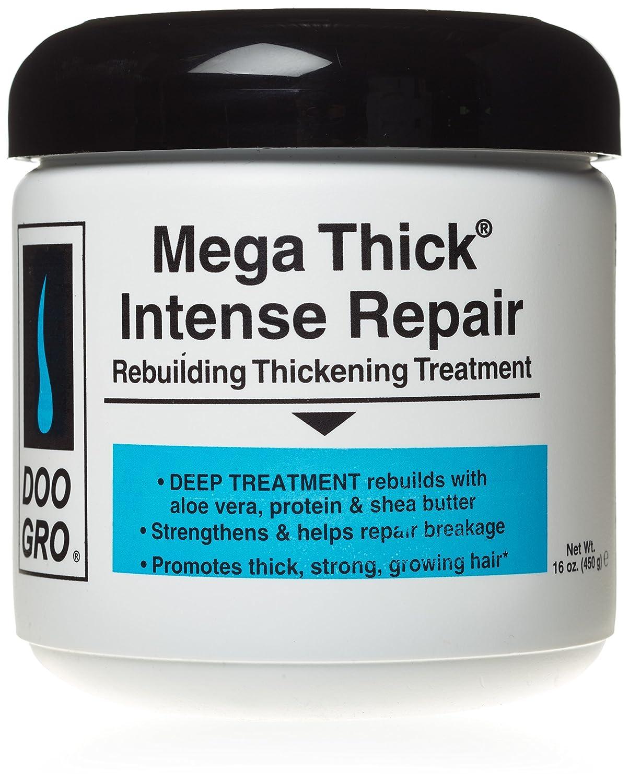 Doo Gro Mega Thick Rebuilding Intense Repair Thickening Treatment, 16 Ounce Atlas Ethnic 649010751092