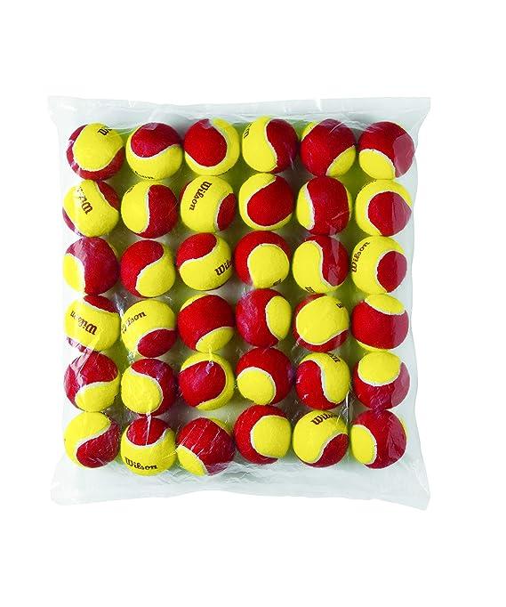 Wilson Starter Pelotas de tenis, Para niños: Amazon.es: Deportes y ...