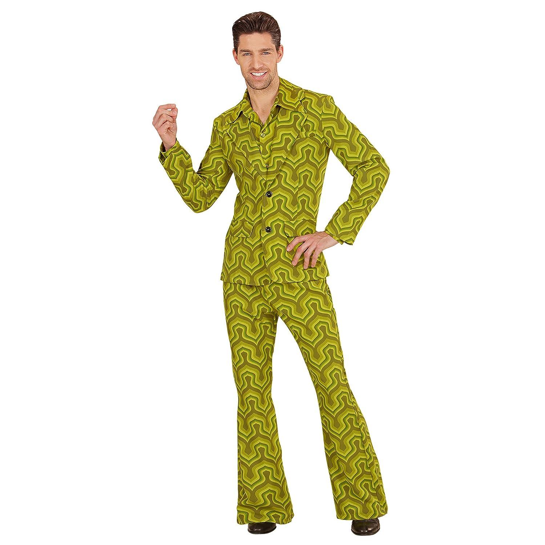 Widmann 08983 Erwachsenenkostüm 70's Anzug, Large B073BJV8P4 Kostüme für Erwachsene Hohe Sicherheit | Guter Markt