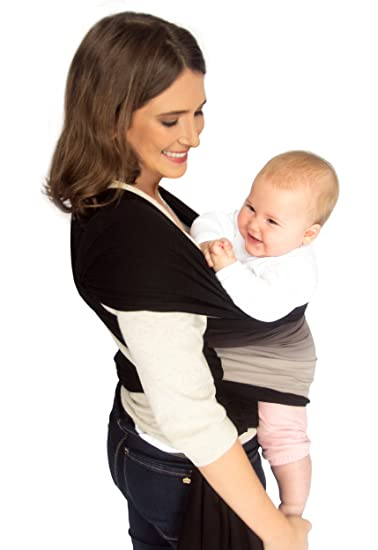 Amazon Com Baby Wrap Carrier Sling Swaddles Infant And Newborn In