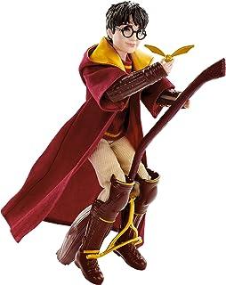 Harry Potter - Muñeco Harry Quidditch, Juguetes Niños +6 Años (Mattel GDJ70)