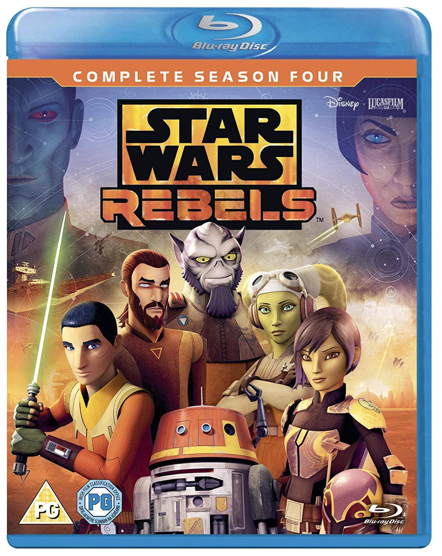 Star Wars Rebels - Season 4 [Italia] [Blu-ray]: Amazon.es ...