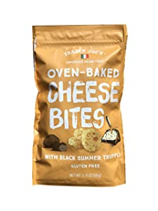 Trader Joe's Trader Giotto's Oven-Baked, Gluten-Free, Low Carb Truffle Cheese Bites (3-pack)