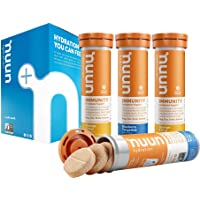 Nuun Immunity : Antioxidant Immune Support Hydration Supplement in 4-Tubes Flavors (40-Servings)