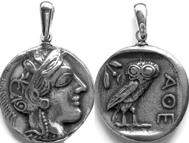 Amazon.com: Percy Jackson Teen regalo, Athena y búho ...
