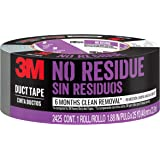 3M No Residue Duct Tape, 2425-HD, 1.88 Inches by 25 Yards