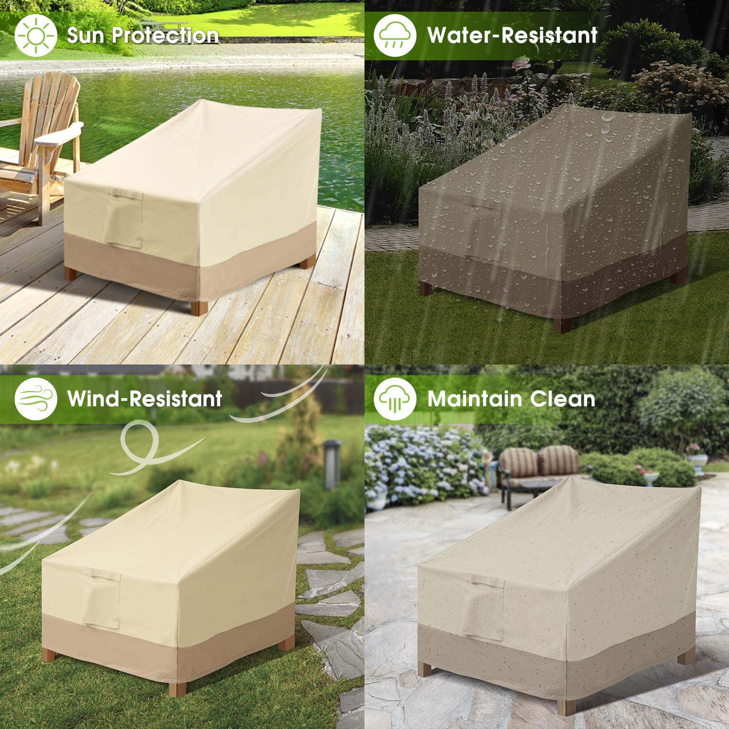 Outdoor Chair Patio Furniture Covers