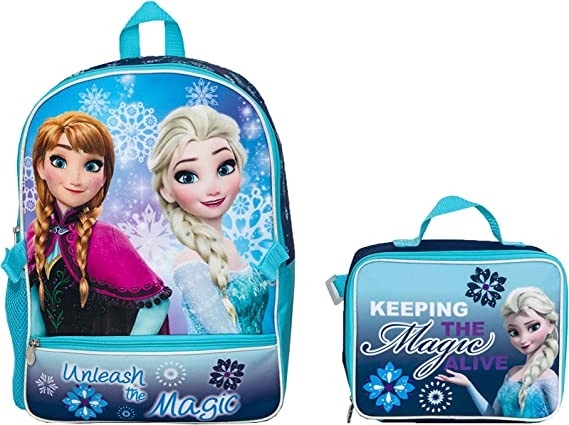 Disney frozen Kids Disney School Backpack Rucksack for PE Shoulder Bag girls