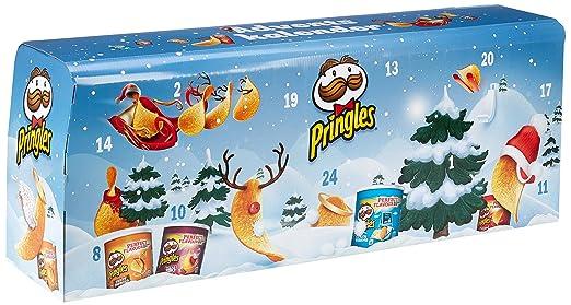 Chip De Weihnachtskalender.Pringles Chips Adventskalender Modell Hellblau 1er Pack 1 X 1 11 Kg