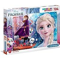 Clementoni 20164 Disney Frozen 2 Mücevher Yapboz, 104 Parça