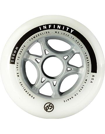 Powerslide 905224 Infinity II - Ruedas para Patines (100 mm, 4 Unidades),