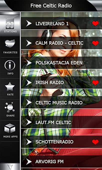 Amazon com: Free Celtic Radio: Appstore for Android
