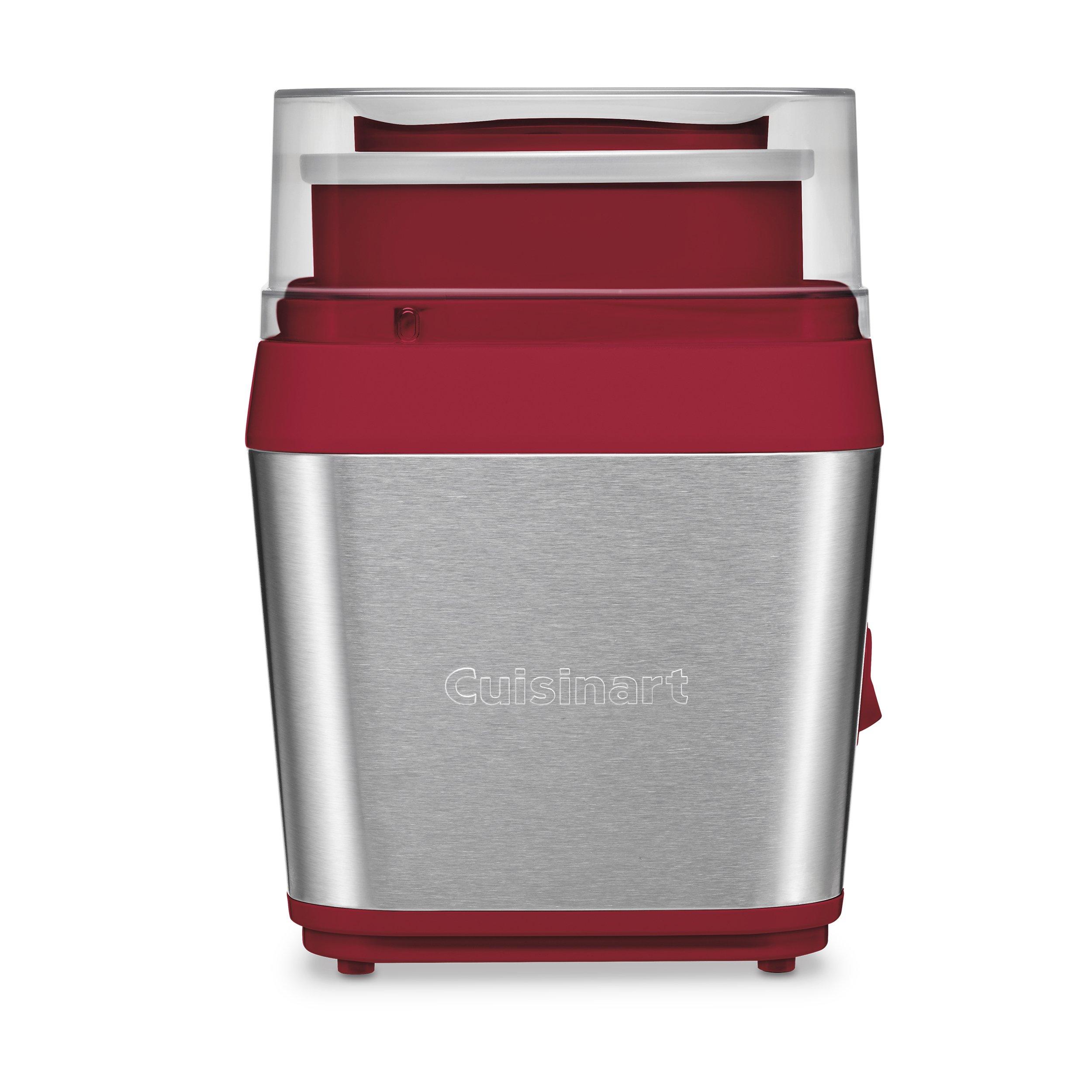 Cuisinart ICE-31R Ice Cream Maker, Red