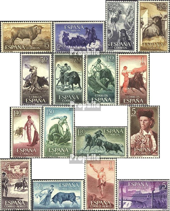 Prophila Collection España 1151-1166 (Completa.edición.) 1960 Corridas de toros (Sellos para los coleccionistas): Amazon.es: Juguetes y juegos