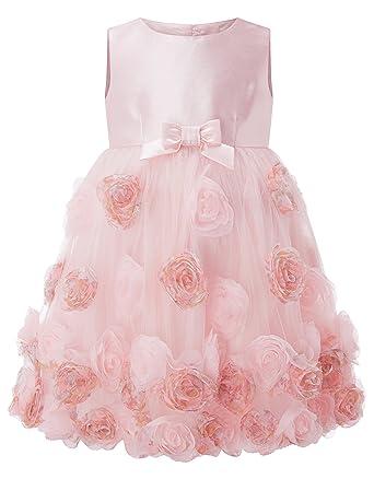 Amazon mrprettys pink tulle flower girl dresses girls wedding mrprettys pink tulle flower girl dresses girls wedding party dress christmas dress mightylinksfo