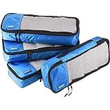 AmazonBasics Bolsas organizadoras de equipaje, 4 piezas