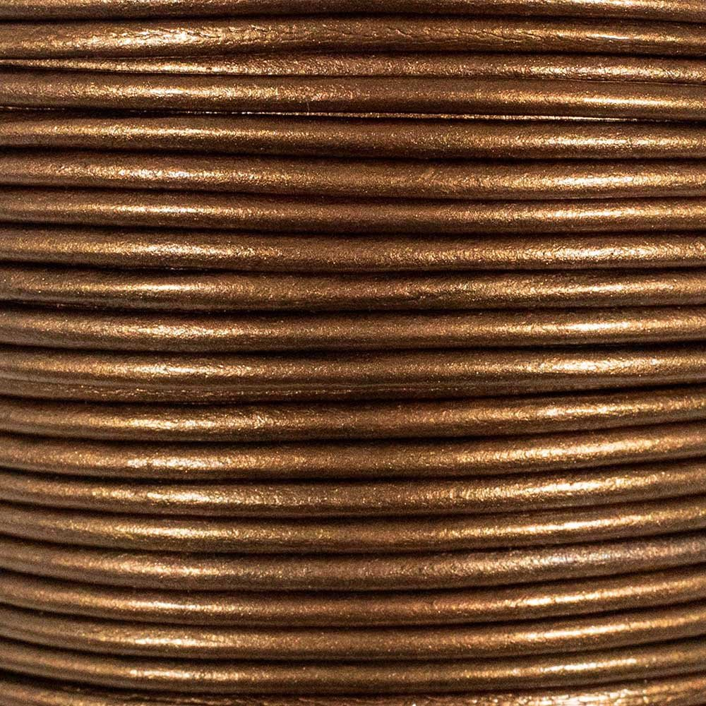 3mm or 50 Yards Available in Different Colors 5 25 Craft County Round Leather Cord 10