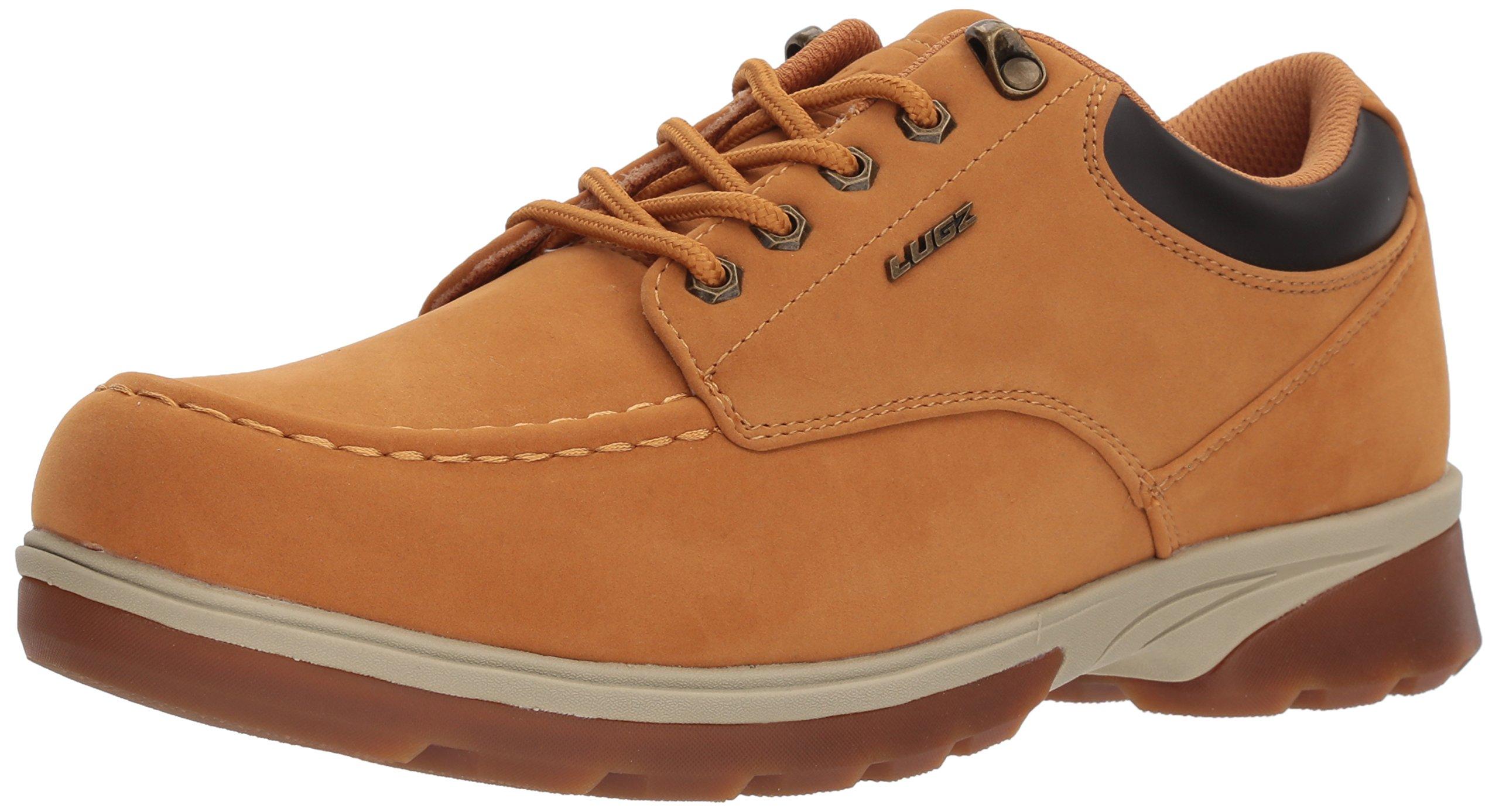 Lugz Men's Stack LO Oxford Boot, Golden Wheat/Cream/bark/Gum, 12 D US