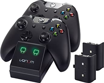 Dual Station de recharge avec 2 batteries pour Xbox One