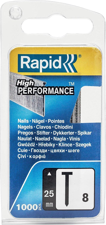 RAPID 40109535 Clavos Multicolor 300//25NB 25mm Box 1000