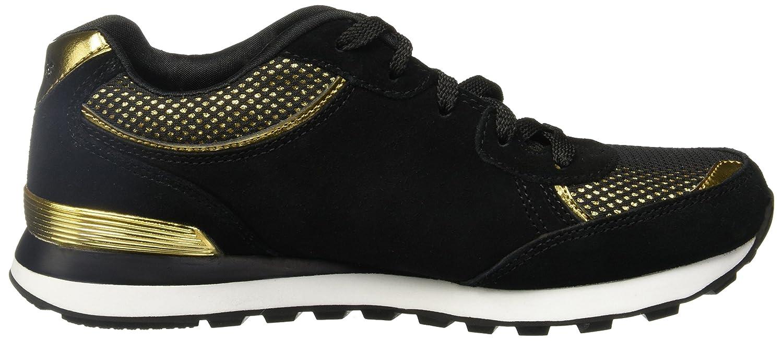 Skechers OG 82 Dash & Dazzle Damen Sneaker Schuhe Schwarz-Gold Fashion Sneaker Damen Turnschuhe Sportschuhe Mehrfarbig 537f64