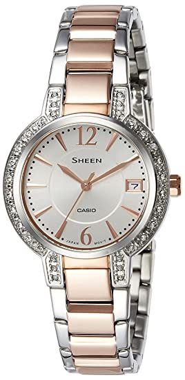 Mujer Casio Sheen Reloj she-4805sg-7audr
