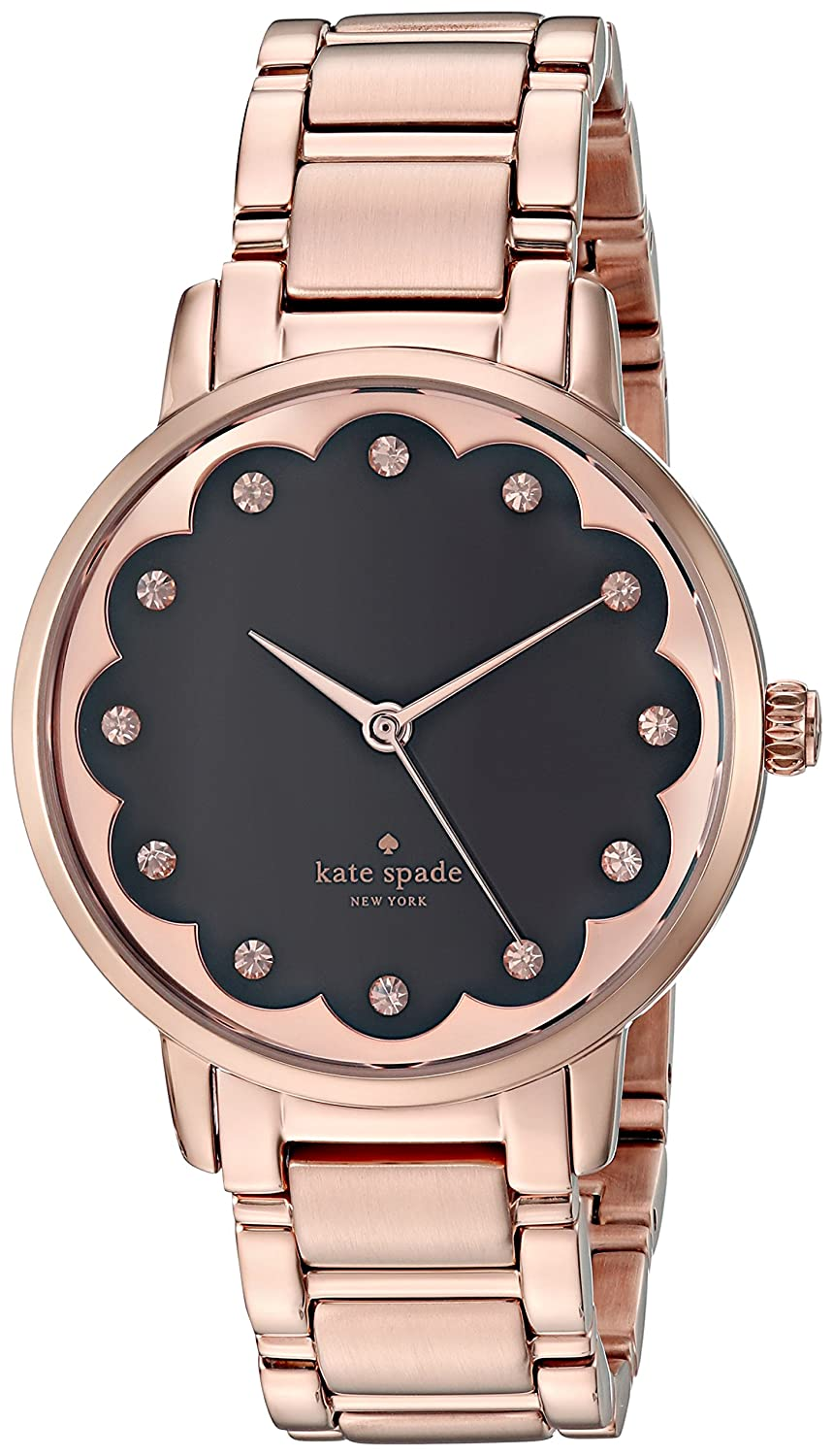 6b5502a29 Amazon.com: kate spade new york Women's Gramercy Analog-Quartz Watch with  Stainless-Steel Strap, Rose Gold, 16 (Model: KSW1044): Kate Spade: Watches