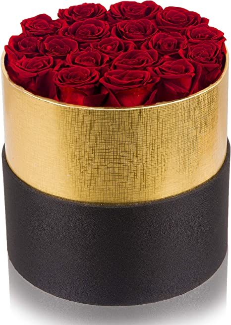 Preserved roses Box
