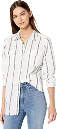 Amazon Brand - Goodthreads Women's Lightweight Twill Long-Sleeve Utility Shirt