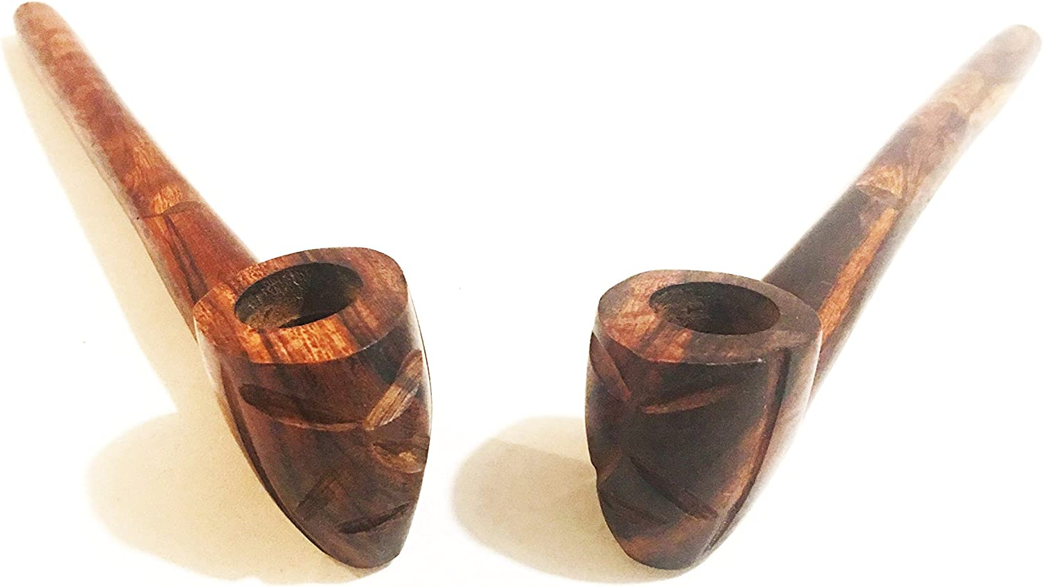 FIGURED IRONWOOD from Arizona Hand made wood small tobacco 4 pipe lotF25 beautiful unclejohnspipe Large Suction Hole prevents gunking