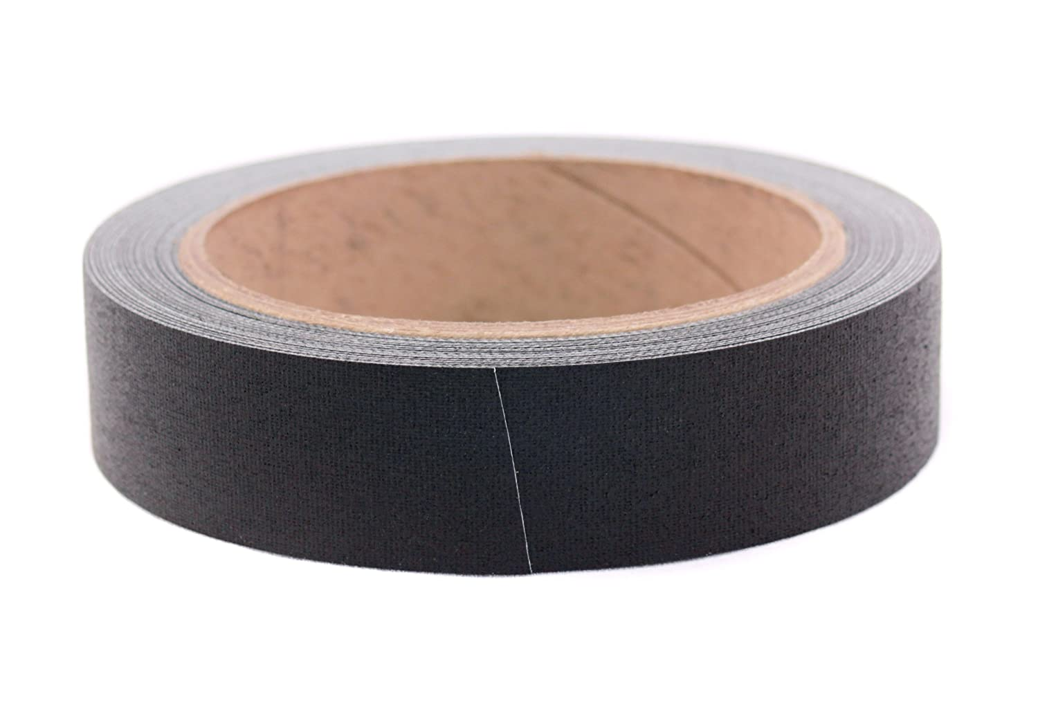 "1"" Black Colored Premium-Cloth Book Binding Repair Tape 