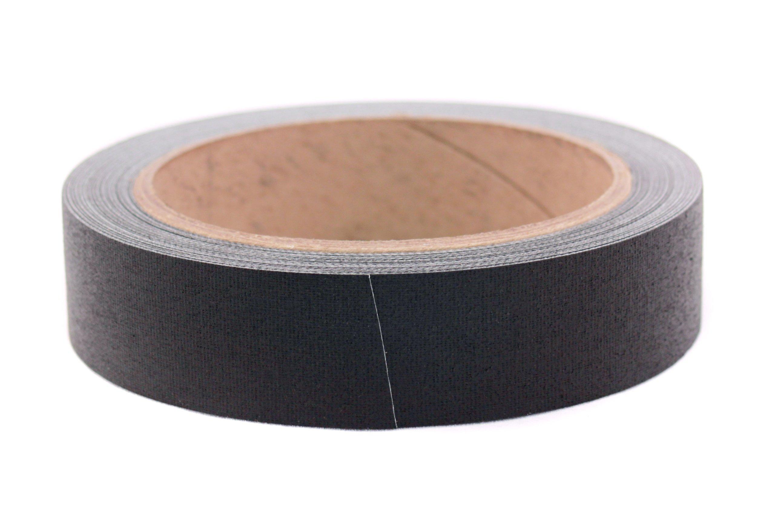 1'' Black Premium-Cloth Book Binding Repair Tape | 15 Yard Roll (BookGuard Brand)