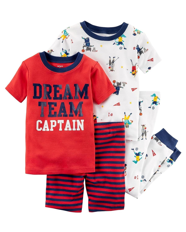 Carter's Boys' 4 Piece Cotton Sleepwear Carters P000498254