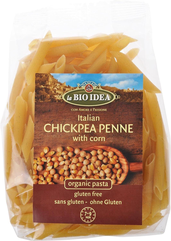 Macarrones de garbanzos y maíz La Bio Idea, 250 g: Amazon.es ...