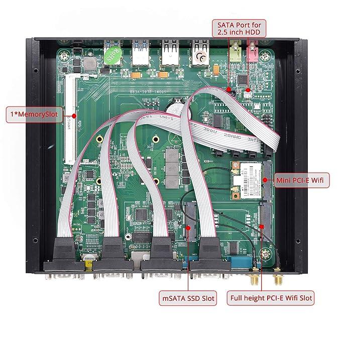 Intel 5ta Generación i7 Broad Well CPU NUC, 4K HTPC, Mini PC ...
