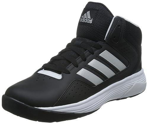 wholesale dealer e8dc9 1f035 adidas Cloudfoam Ilation Mid, Zapatillas de Deporte Exterior para Hombre,  Negro Plateado Blanco (Negbas Plamat Ftwbla), 47 1 3 EU  Amazon.es  Zapatos  y ...