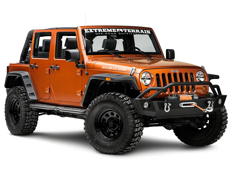 Barricade Extreme HD Rocker Steps Jeep Wrangler JK 4 Door 2007-2018
