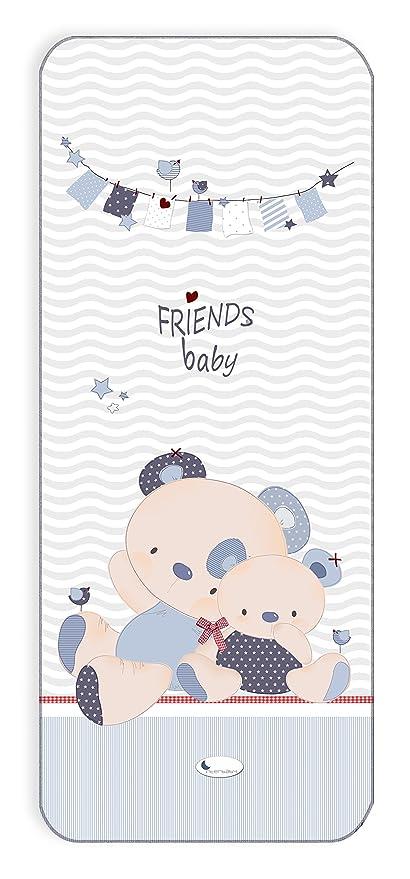 Colchoneta Silla de Paseo Universal Transpirable Friends Baby-INTERBABY