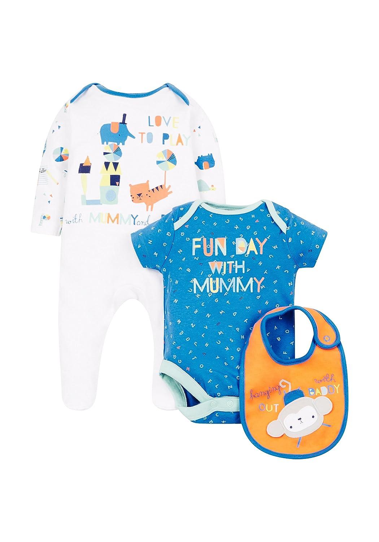 Mothercare Baby-Jungen Bekleidungsset Mummy & Daddy PD360