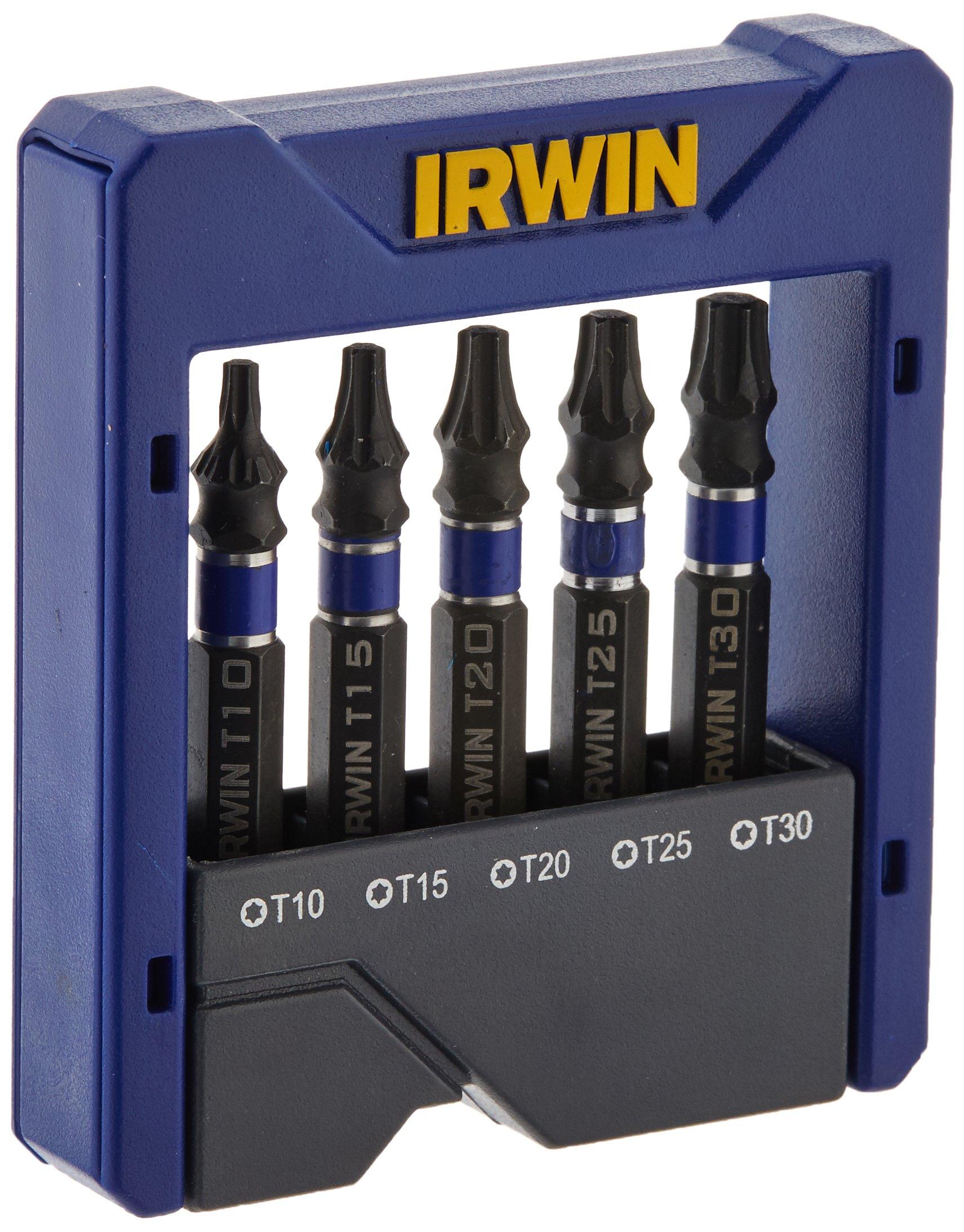 IRWIN 1899925 TORX Power Bit Pocket Set (5 Pz.)