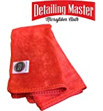 Wavex Microfiber 350 GSM Car Cleaning Cloth | Multi Use Cleaning Towel (40 cm x 40 cm, 350 GSM )