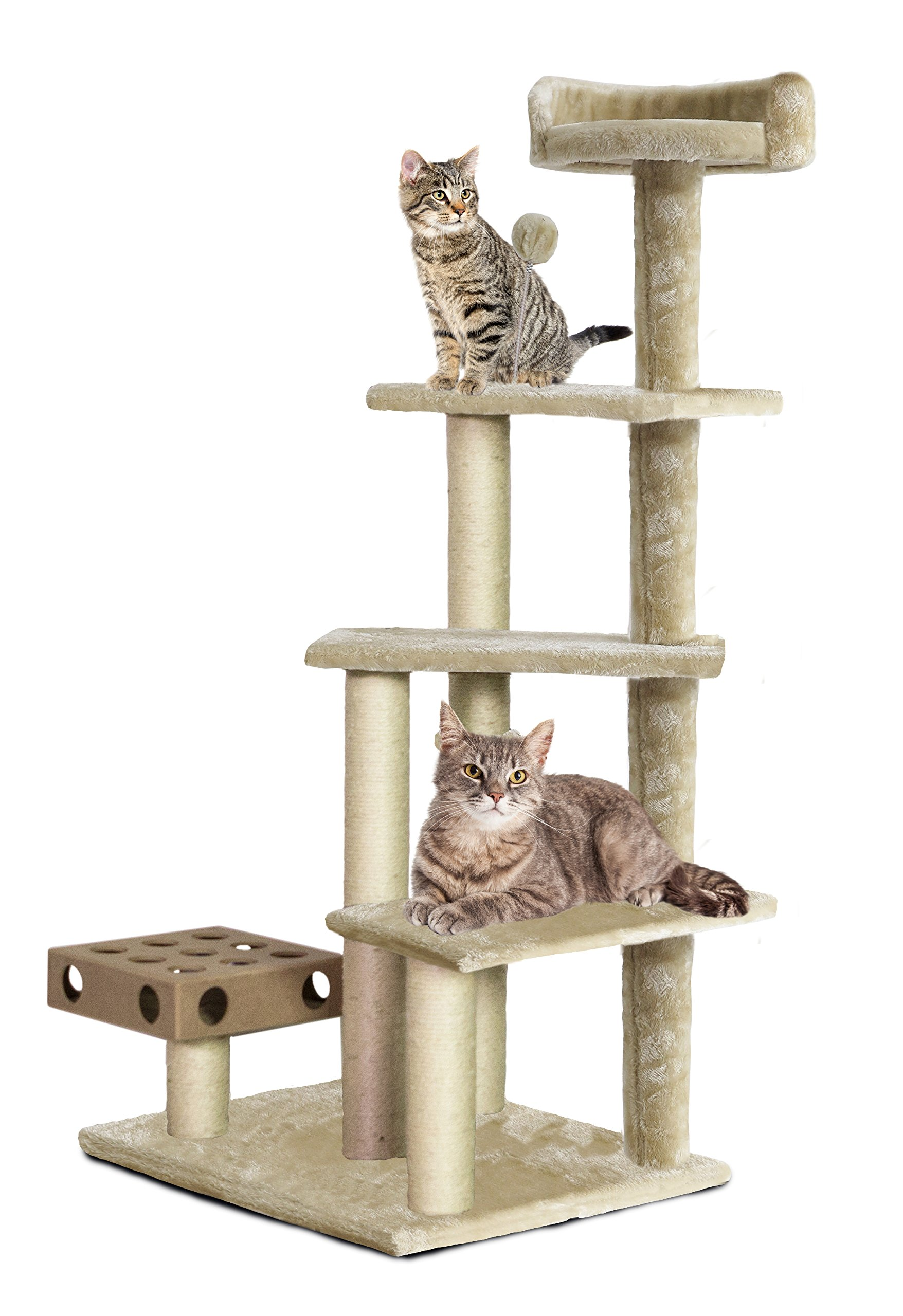 FurHaven Tiger Tough 33 Styles of Scratching Posts and Cat Tree House Furnitu