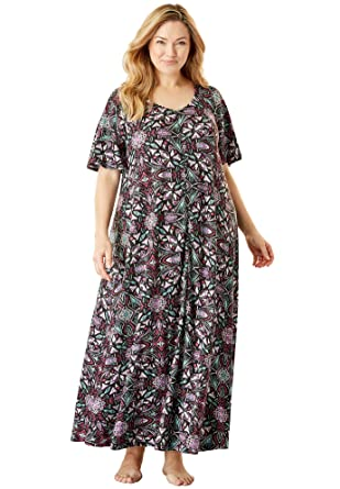 d616e7c7258 Only Necessities Women s Plus Size Wide Sweep Lounger at Amazon Women s  Clothing store