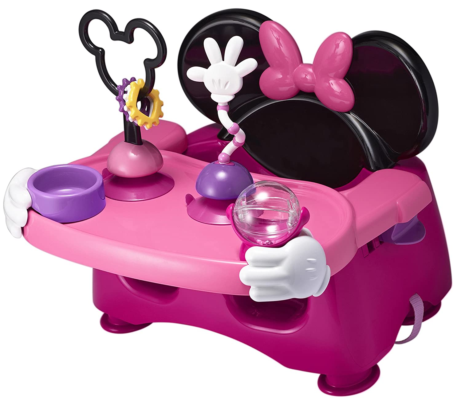 The First Years Disney Baby Helping Hands Feeding and Activity Seat, Minnie Mouse Y10598A1