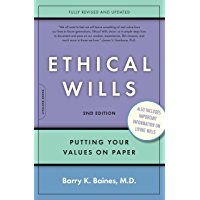 Ethical Wills: Putting Your Values on Paper (English Edition)
