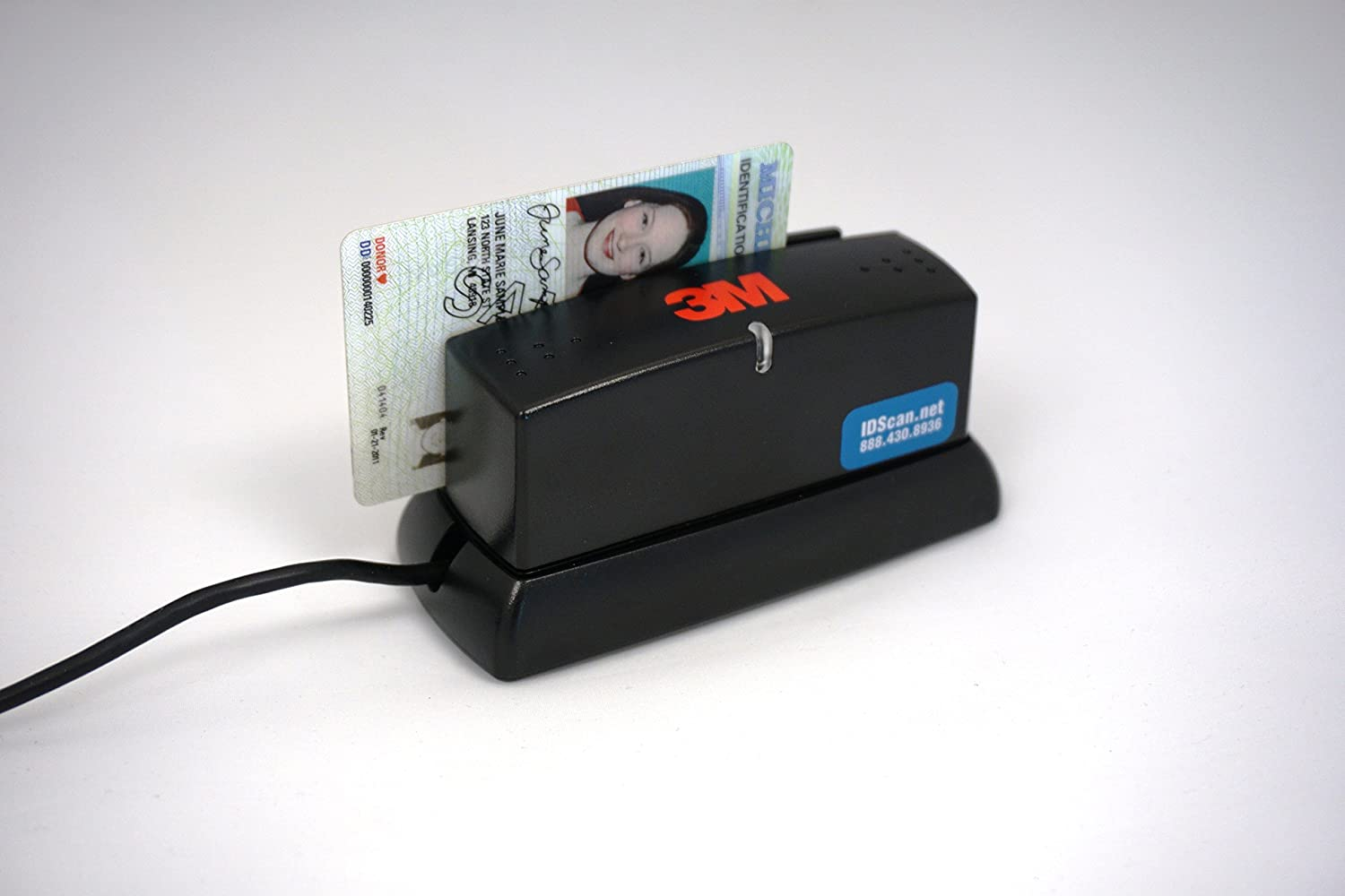 3m Cr100 Document Passport Reader Scanner Mrz Mrtds Usb Code Barcode Cr1000 Office Products