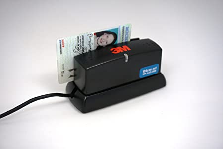 Incroyable Amazon.com: 3M CR100 Document Passport Reader Scanner MRZ MRTDS USB: Office  Products