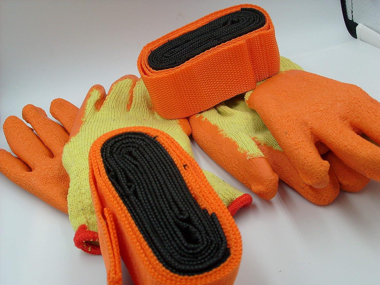 Correas de mudanza + 2 pares de guantes de elevación elevadora con ...