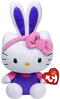a41910c47 Ty Hello Kitty Beanie Babies Baby Rabbit Ears Easter 40984, 15 cm, Purple