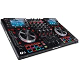 Numark NV II | Four Deck DJ Controller for Serato DJ (Included) With Dual High Resolution Displays, 16 Performance Pads…